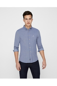 Long-sleeved shirt Pique Solid