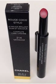 Chanel Rouge Coco Stylo complete care lipshine 214 message 2 g