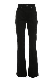 Karen high-rise flared jeans
