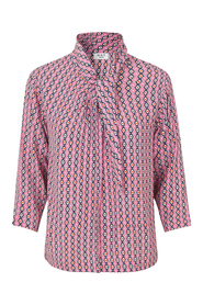 Day Tiles Bluse