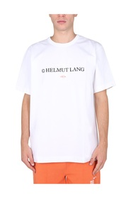 T-SHIRT WITH LAYERED LOGO
