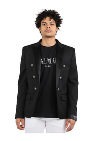 Balmain Jackets Black