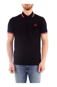 FRED PERRY M3600 Polo Men NAVY / RED