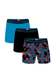 Muchachomalo 3-pack boxershorts agains the stream-M