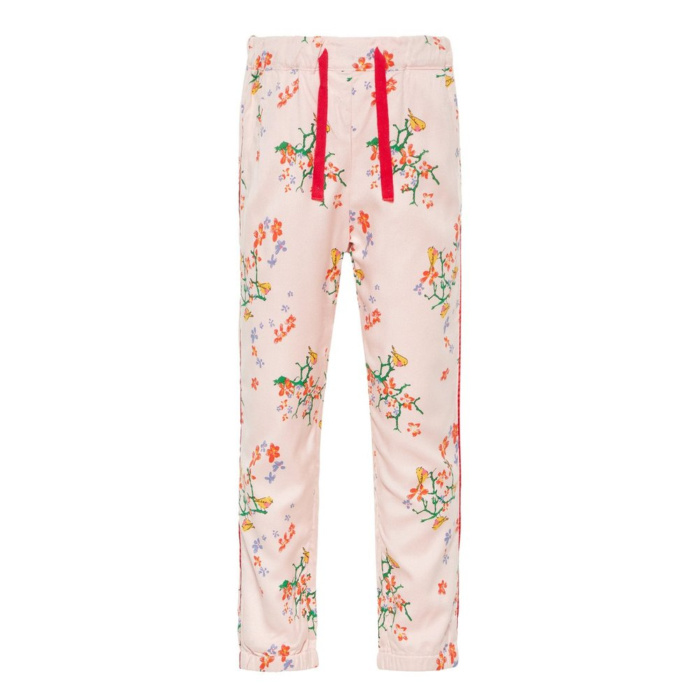 Trousers floral printed viscose