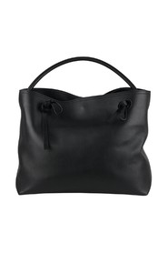 Line 11 Leather Tote Shoulder Bag