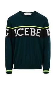 Sweater with front logo