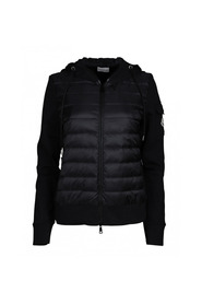 Padded Front Hooded Cardi-Coat