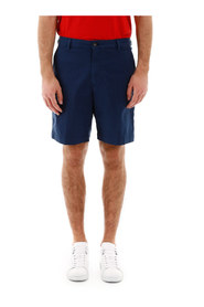 Shorts with embroidered logo