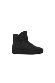 Sort Public Relations Woody Mid Black Wool Sko