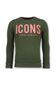 ICONS - Merk Sweater Mannen