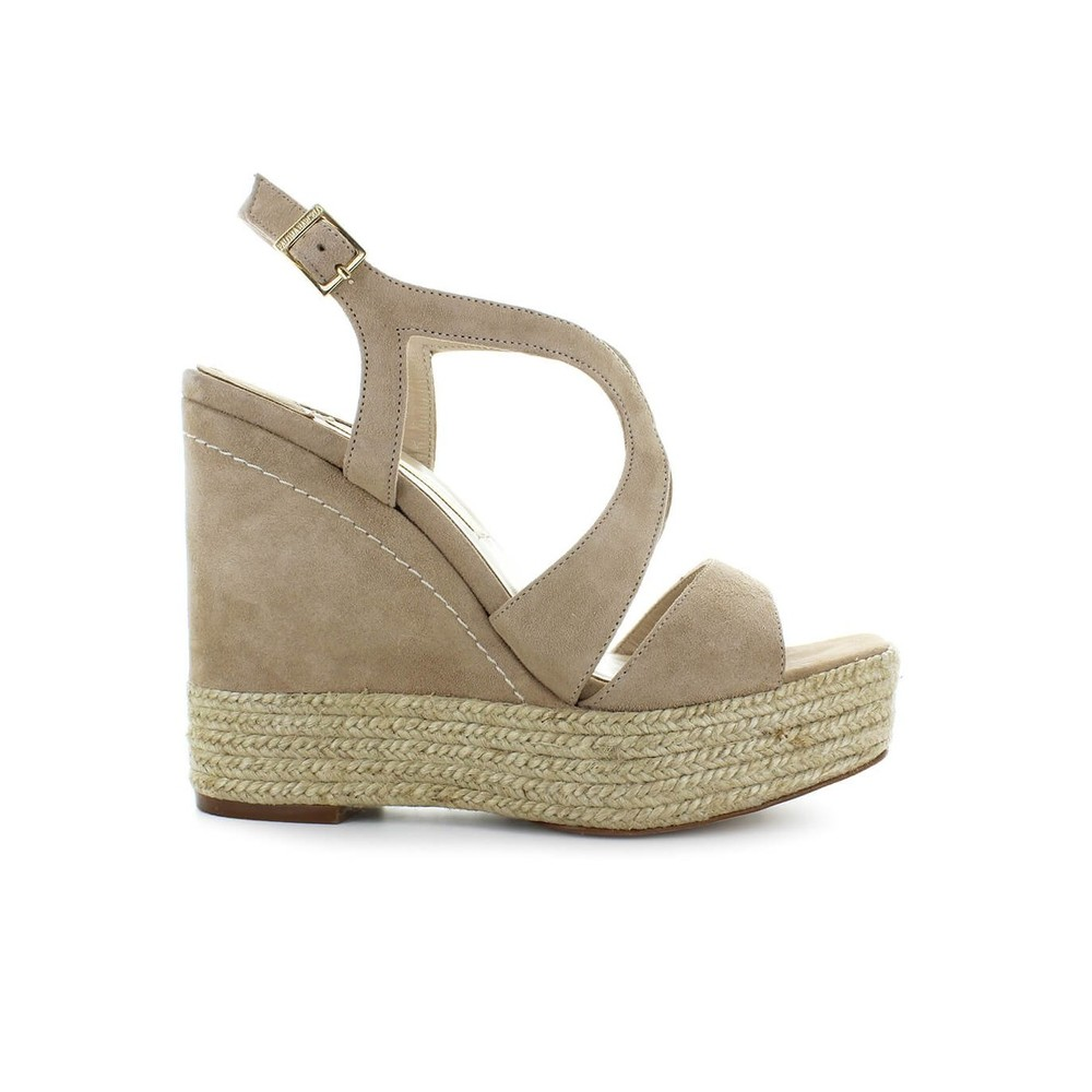MAGAFA BEIGE WEDGE SANDAL
