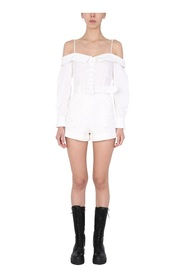 EMBROIDERED WHOLE PLAYSUIT