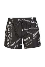 ALL OVER DG SWIMSHORTS