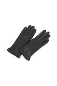 Abigail Glove i skind med touch funktion