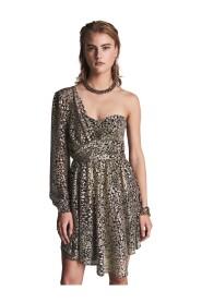 Mara A-symetrical Shimmer Dress
