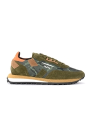 Rush sneaker in suede and camouflage