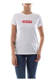 LEVIS 17369 0903 THE PERFECT TEE T SHIRT AND TANK Women WHIPLASH
