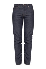 Jeansy z prostymi nogawkami