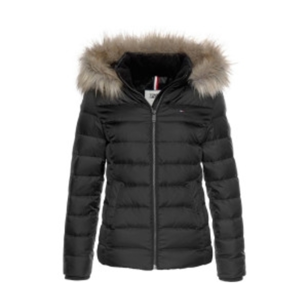 Essentail hooded down jacket