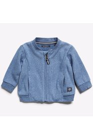 Marc O'Polo Junior - Baby Sweat Jacket, Boy - Blue Indigo Melange