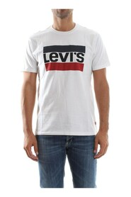 LEVIS 39636 LOGOGRAPHIC T SHIRT AND TANK Men WHITE