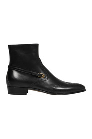 BOOTIE LEATHER LS QUENTIN