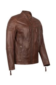 LIGHT SHADOW LEATHER JACKET