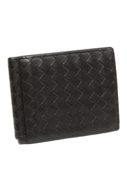 Intrecciato Leather Bifold Wallet