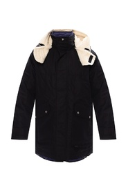 'W-Steve' two-layered coat