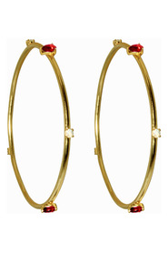 Lopez Red Hoops