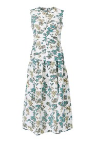 Floral Curled Dress