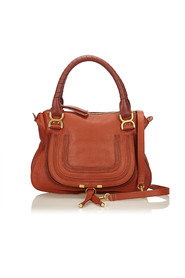 Leather Marcie Satchel Leather Others Italy