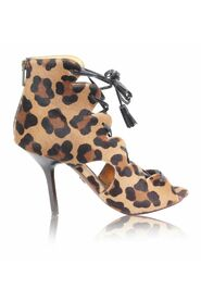 pre-owned Leopard Print Sandals
