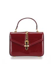 Sylvie 1969 Patent Leather Satchel