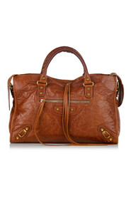 Pre-owned  Motocross Classic City Lambskin Leather Satchel Bag