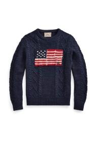 Marine Flag Sweater Genser
