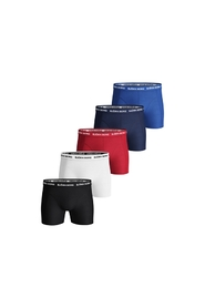 Solid shorts 5 pack