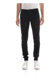 DIESEL SLEENKER JEANS Men DENIM BLACK