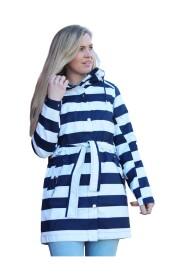 Stripete W Lyness Coat