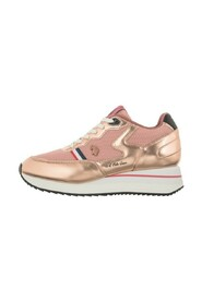 Scarpe sneakers running Livy in ecopelle/ mesh DS21UP01
