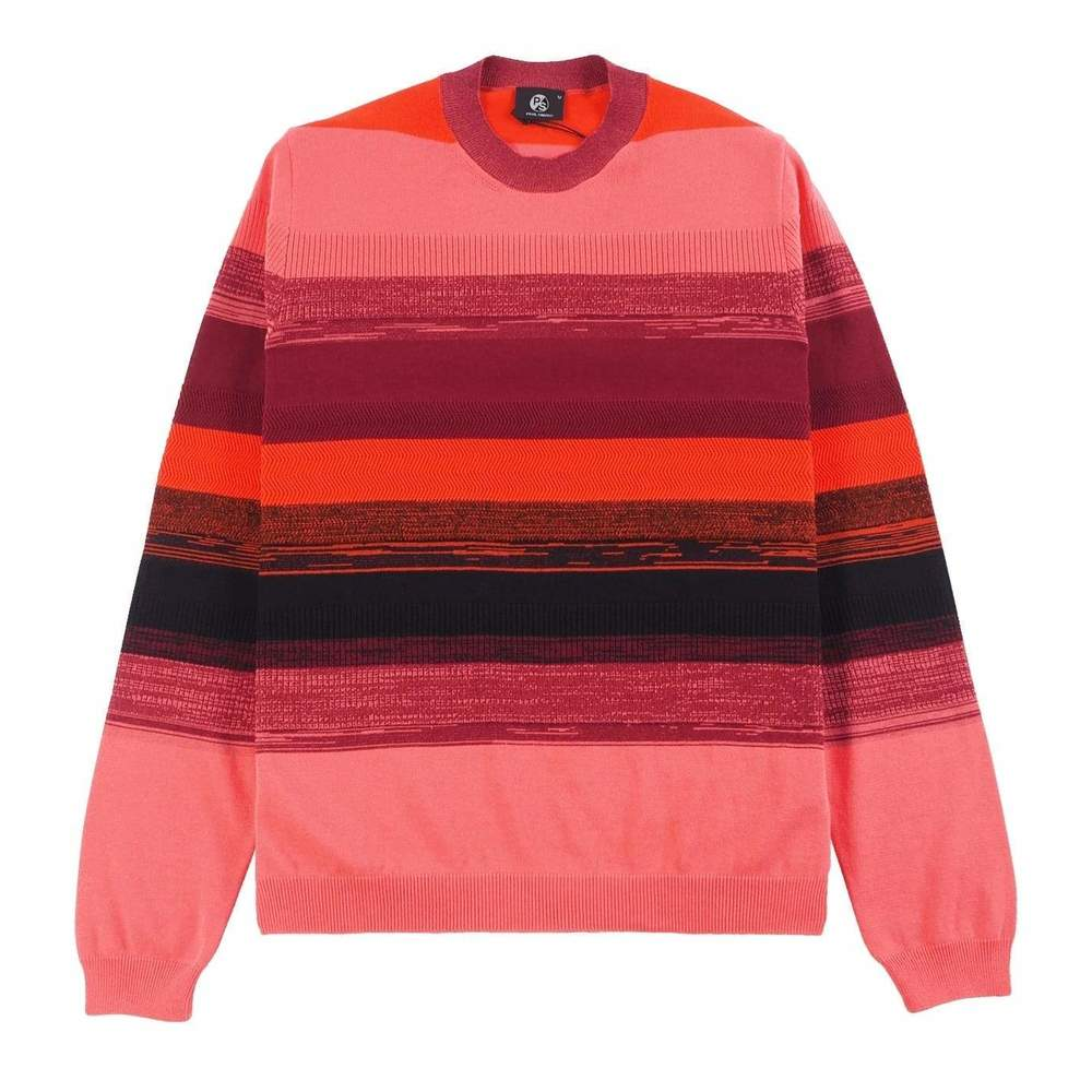 Cotton Striped Crew Neck