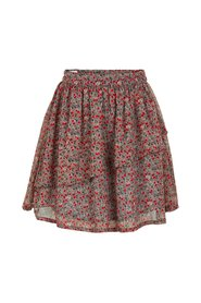 Creamie - Skirt Multi Colour Chiffon (820790) - Steeple Gray