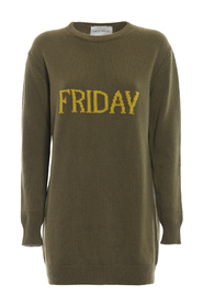 Friday  long crewneck sweater