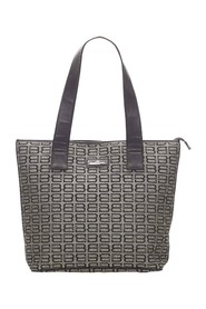 BB Monogram Canvas Tote Bag
