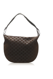 Hobo Bag Leather Suede