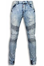 Exclusieve Holed Ripped Jeans