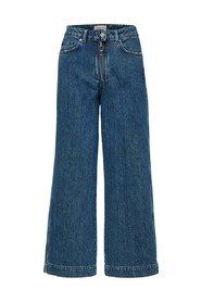 Wide fit jeans Cropped