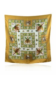 Pre-owned Accornero Leaves and Insects Scarf 1970