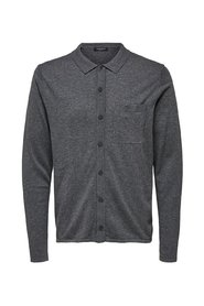 Strick-Cardigan Polo